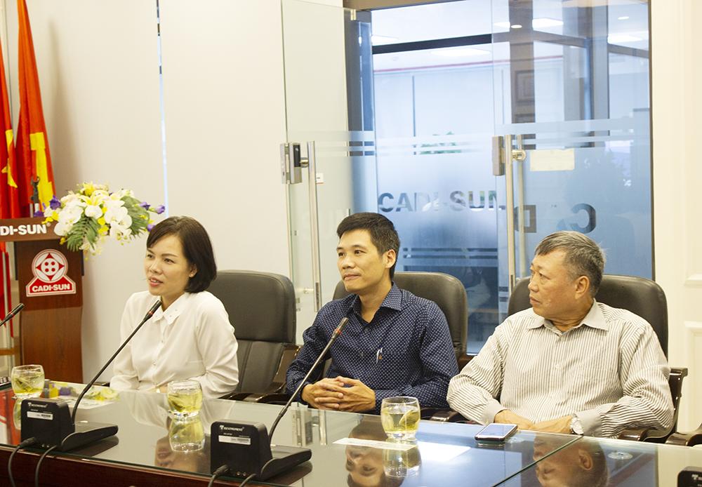 CADI-SUN là doanh nghiệp tiêu biểu trên địa bàn