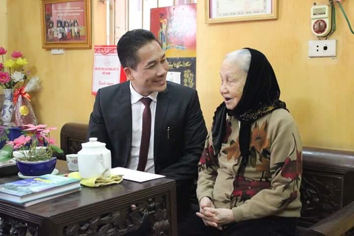 CADI-SUN thăm hỏi, phụng dưỡng mẹ Việt Nam anh hùng nhân dịp Tết Đinh Dậu 2017